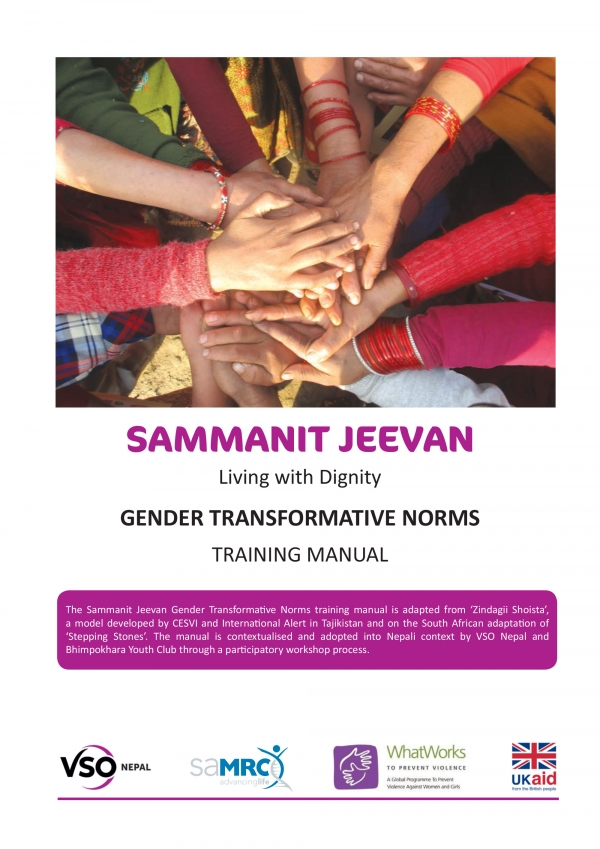 Gender Transformative Norms - Training Manual