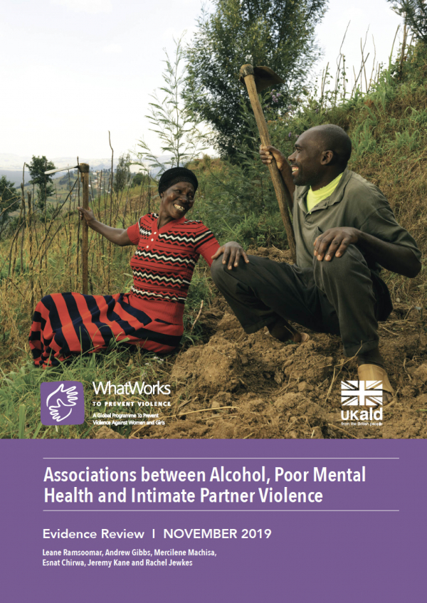 Associations between Alcohol, Poor Mental Health and Intimate Partner Violence