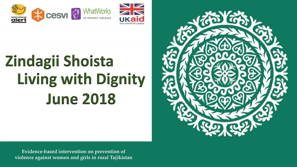 Zindagii Shoista – Living With Dignity June 2018